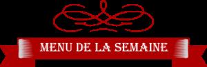 Menu plats du jour - Boucherie Riedinger